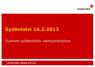 Sydäntalvi 16.2.2013