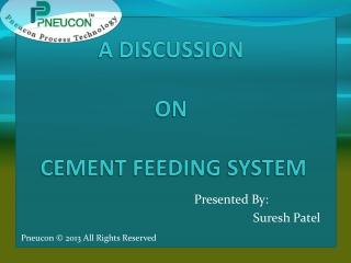 Cement feeding system manufacturer Gujarat