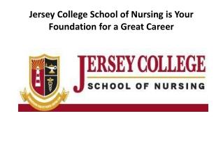 nursing programs in New Jersey