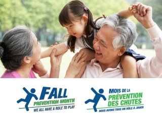 It takes a community to prevent a fall. We all have a role to play .