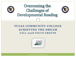 Overcoming the Challenges of Developmental Reading
