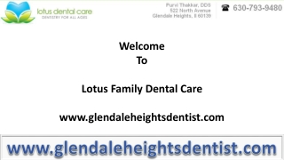 Know the Important Terms for Dental Treatment