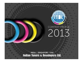 Toner Manufacturer | Indian Toners and Developers Limited