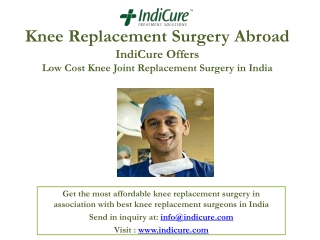 Knee Replacement Surgery Abroad