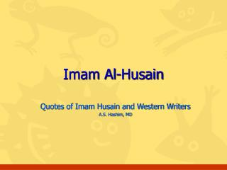 Imam Al-Husain