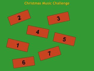Christmas Music Challenge