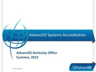 AdvancED Systems Accreditation