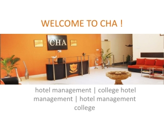 hotel management | college hotel management | chajaipur