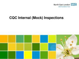 CQC Internal (Mock) Inspections