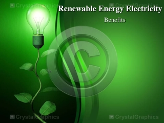 Benefits of Using Renewable Energy Electricity