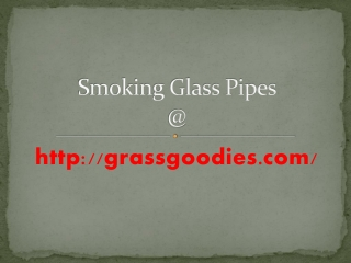 Christmas Sales Offer on Smoking Pipes by grassgoodies.com