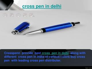 cross  pen in delhi