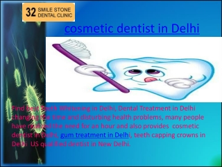 cosmetic dentist in Delhi