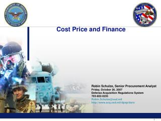 Cost Price and Finance