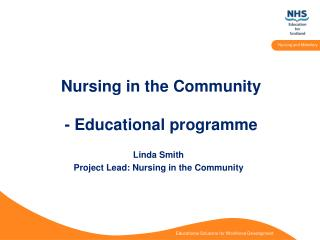 Nursing in the Community - Educational programme