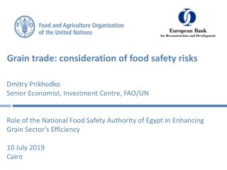 Grain trade: consideration of food safety risks