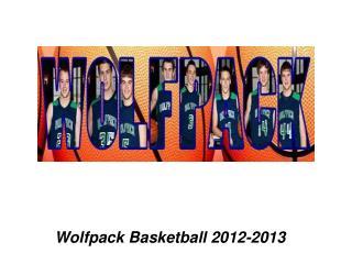 Wolfpack Basketball 2012-2013