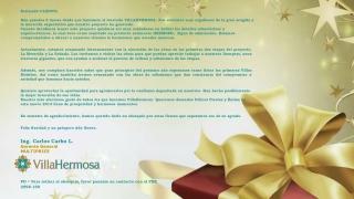 VillaHermosa navidad