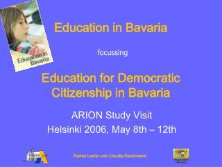 Education in Bavaria
