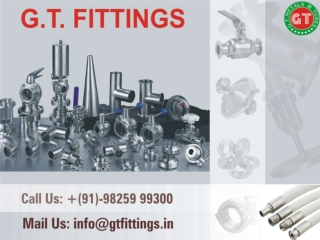 Stainless Steel Electro Polished, TC Fittings - GT Fittings