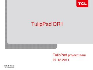 TulipPad DR1