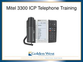 Mitel 3300 ICP Telephone Training