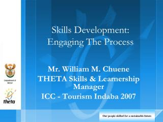 Skills Development: Engaging The Process