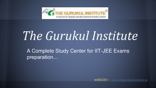 IIT-JEE Coaching in vasundhara, India
