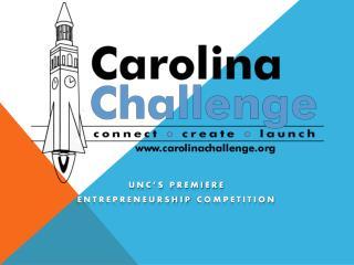 UNC's Premiere Entrepreneurship Competition
