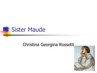Sister Maude
