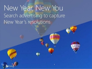 New Year, New You: Search Advertising to Capture New Year's