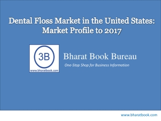 Dental Floss Market in the United States: Market Profile to