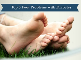 Foot Problems with Diabetes