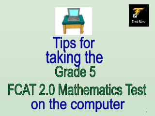 Grade 5  FCAT 2.0 Mathematics Test