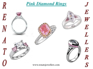 PINK DIAMONDS RINGS