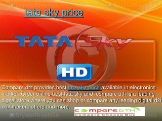 tata sky price