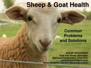 Sheep & Goat Health