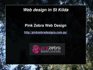 Web design in St Kilda