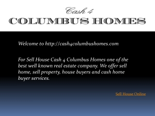 Sell House Online | House Buyers