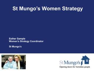 St Mungo's Women Strategy