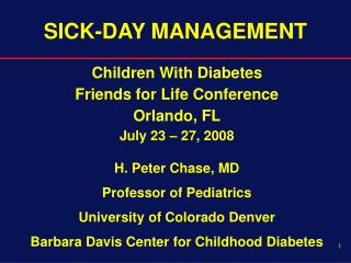 SICK-DAY MANAGEMENT