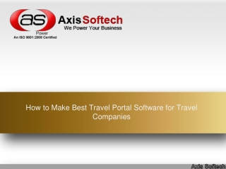 How to Make Best Travel Portal Software for Travel Companies