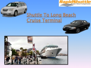 Long Beach Cruise Terminal Shuttle