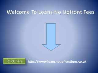 Financial Help Without Any Extra Upfront Fees