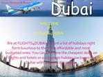 Cheap Holidays in Dubai