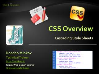 CSS Overview