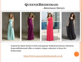 Hot Style Bridesmaid Dresses Of Queenie Bridesmaid