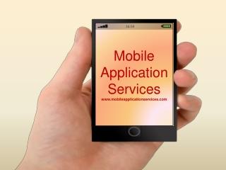 Mobile Application Service Provider