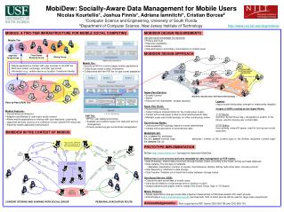 MobiDew: Socially-Aware Data Management for Mobile Users