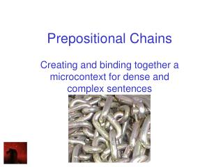 Prepositional Chains